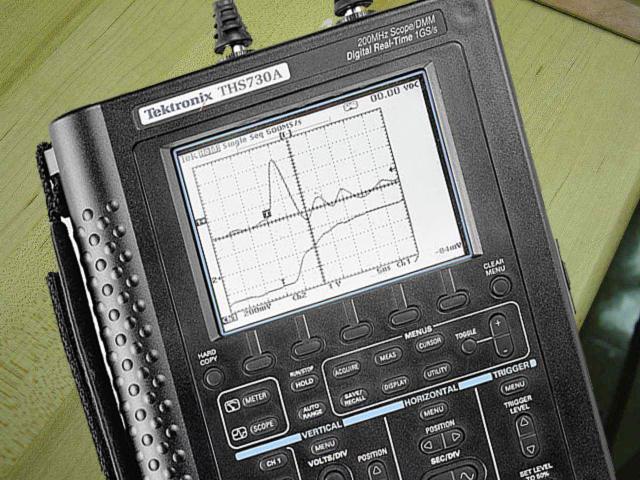 warped org tektronix ths700 series handheld oscilloscopes fan site rh warped org Tektronix Scope Repair THS720A